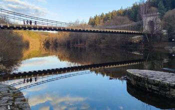 Krásy Jižních Čech: Stádlecký řetězový most