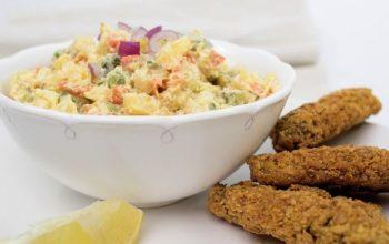 Recept: Bramborový salát