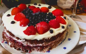 Recept: Jednoduchý dort